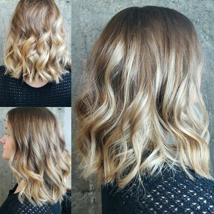 New hair ombre by In Berlin hair studio athens