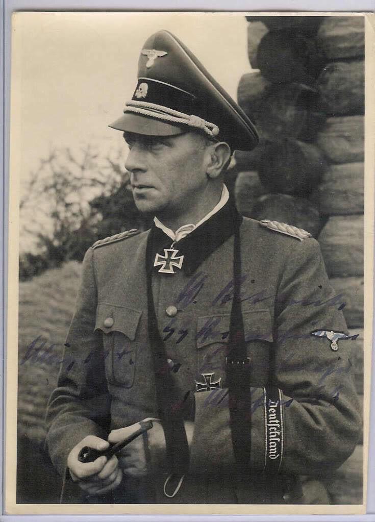 Wilhelm Bittrich was the commander of II SS Panzerkorps in 1944.