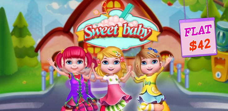 #GirlsGameSourcecode  Show your #GameDevelopment Skills and build your own #GirlsSalonGame with Sweet Baby Beauty Salon game. Now 97% #Off.