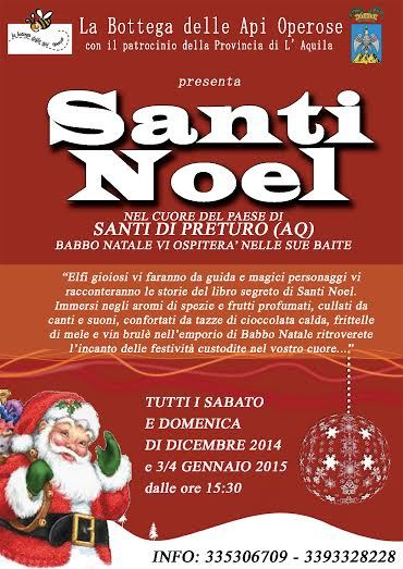 Santa Claus is coming to town!!!