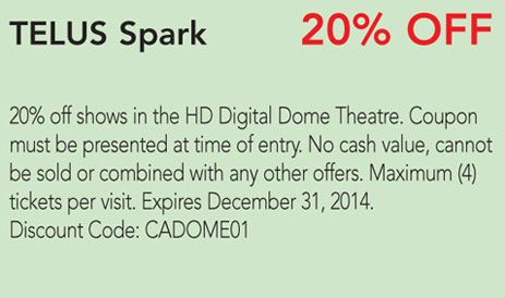 Spark coupon