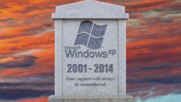 Windows XP (2001–2014)  If you are still running Windows XP on your computer, you really need to stop doing that. Besides the fact that the operating system is a comparatively ancient 13 years old, Windows dropped support for it back in April, meaning that you will be left vulnerable to an Internet full of digital evil-doers.