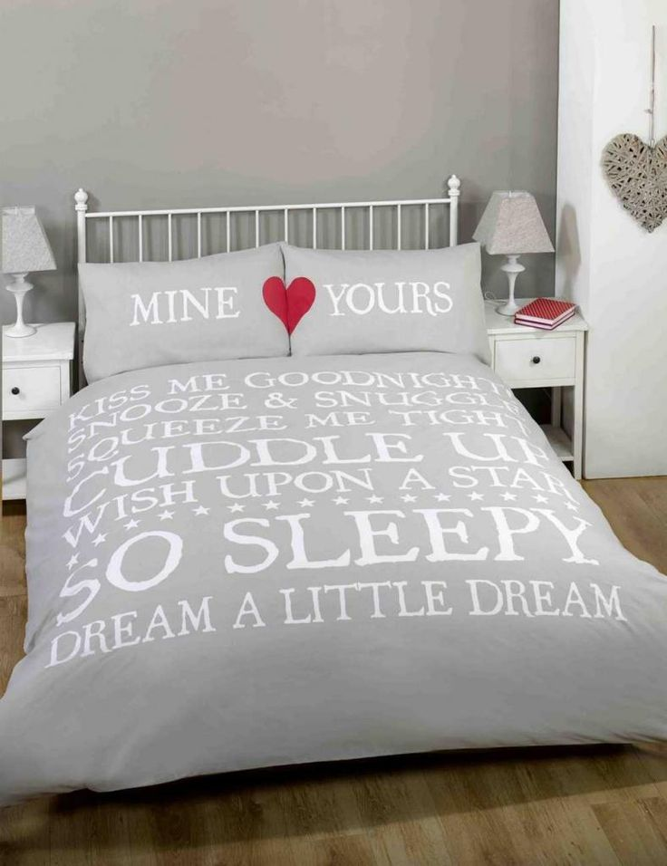 mine u0026 yours love hearts cute grey double bedding bed set duvet cover