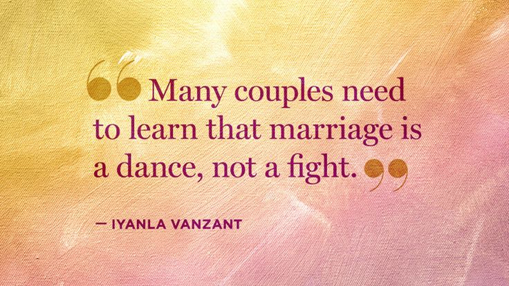 Every couple fights, but it's important to fight fairly and find resolution. Get Iyanla Vanzant's advice for couples in conflict.