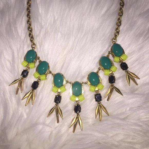 J Crew Necklace This J Crew Necklace screams spring with its vibrant colors! It is brand new, with tags and never been worn! J Crew Jewelry Necklaces