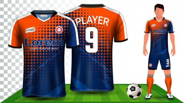Soccer Jersey Sport Shirt Or Football Kit Uniform Presentation Sport Shirt Design Sports Shirts Sports Tshirt Designs