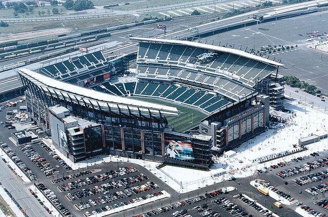 Lincoln Financial Field - Philadelphia, PA...still can't get anyone to go with me to an Eagles game