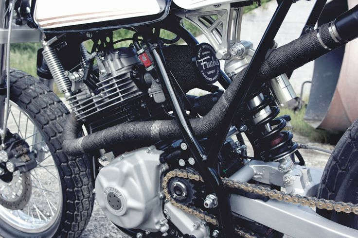 Fuch's 1986 Suzuki DR600 Tracker