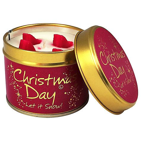 Stuck on what to buy a colleague you don't really know? This Xmas Day candle is ideal!