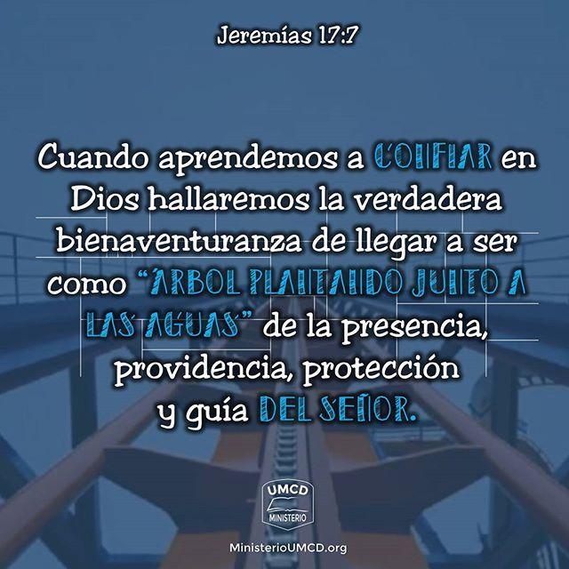 """""""Montaña Rusa""""  Jeremías 17:7, 8 """"Bendito el varón que confía en Jehová, y cuya confianza es Jehová. Porque será como el árbol plantado junto a las aguas, que junto a la corriente echará sus raíces, y no verá cuando viene el calor, sino que su hoja estará verde; y en el año de sequía no se fatigará, ni dejará de dar fruto."""" La palabra """"confiar"""" en el original griego """"bataj"""" (בָּטַח, H982) significa esperar, apoyarse, estar tranquilo y seguro, andar fiado o confiado, poner la confianza o…"""