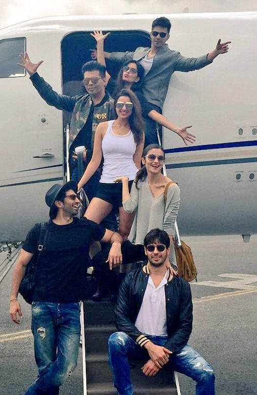 Dream Team Tour Diaries: Catch Alia Katrina Parineeti Varun Sids Fun Times