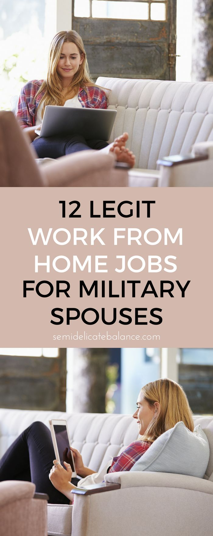 haven't heard of some of these yet, it's totally possible to make money working from home, when you're a military spouse
