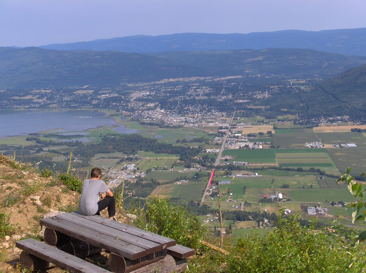 Fly Hills above Salmon Arm BC