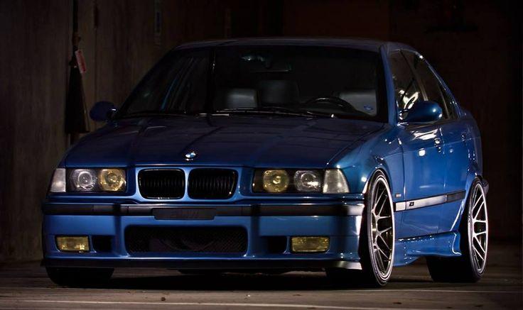 E36 BMW M3--Blue