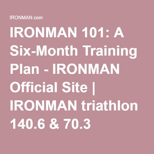 Strength Training Plan For Triathletes: 25+ Best Ideas About Ironman Triathlon Motivation On