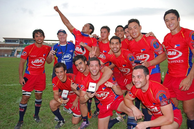 Philippine Volcanoes. National Rugby Team.