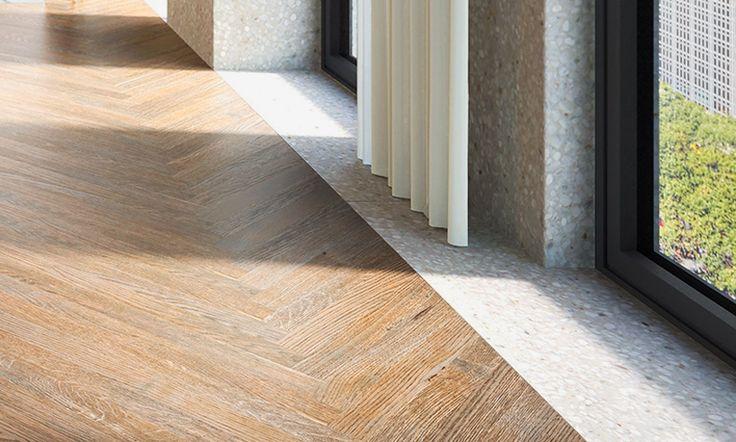 david chipperfield the bryant 16 west 40 new york interiors oak herringbone floors extend throughout each unit