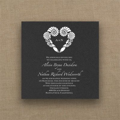 51 Best Images About Black Wedding Invitations On Pinterest