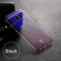 Luxury Gradient Color Transparent Hard Cover For Samsung Galaxy Series
