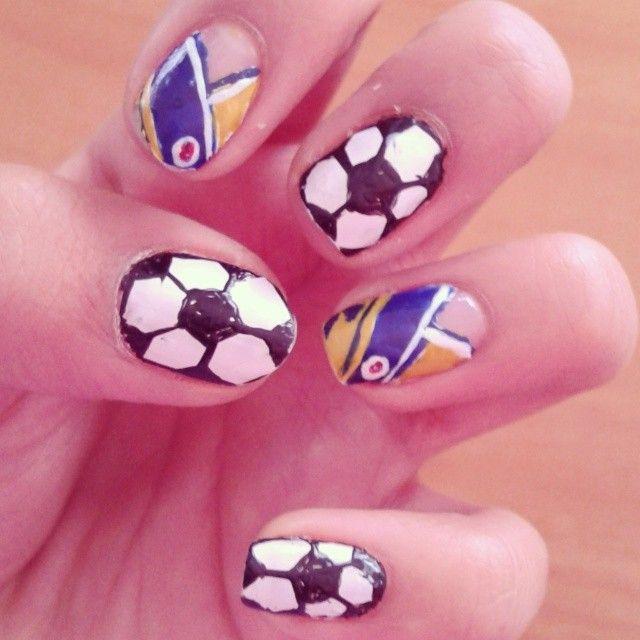 #FutbolNails #ColombianNails