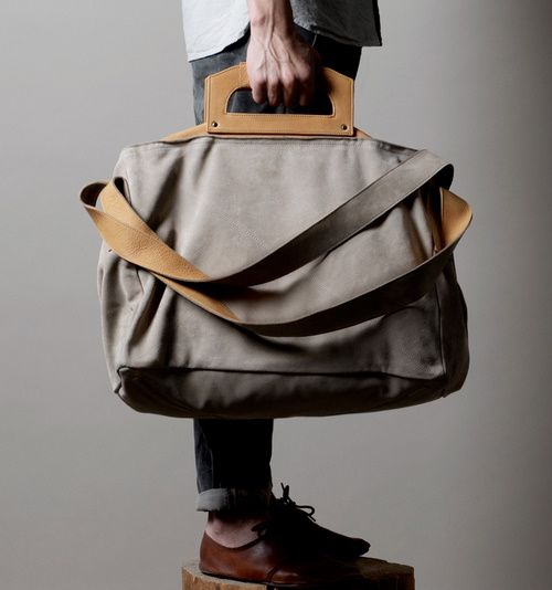 love the handle.: Bags Leather, Style, Bag Mensfashion, Mens Fashion, Awesome Handbags, Leather Bags, Man