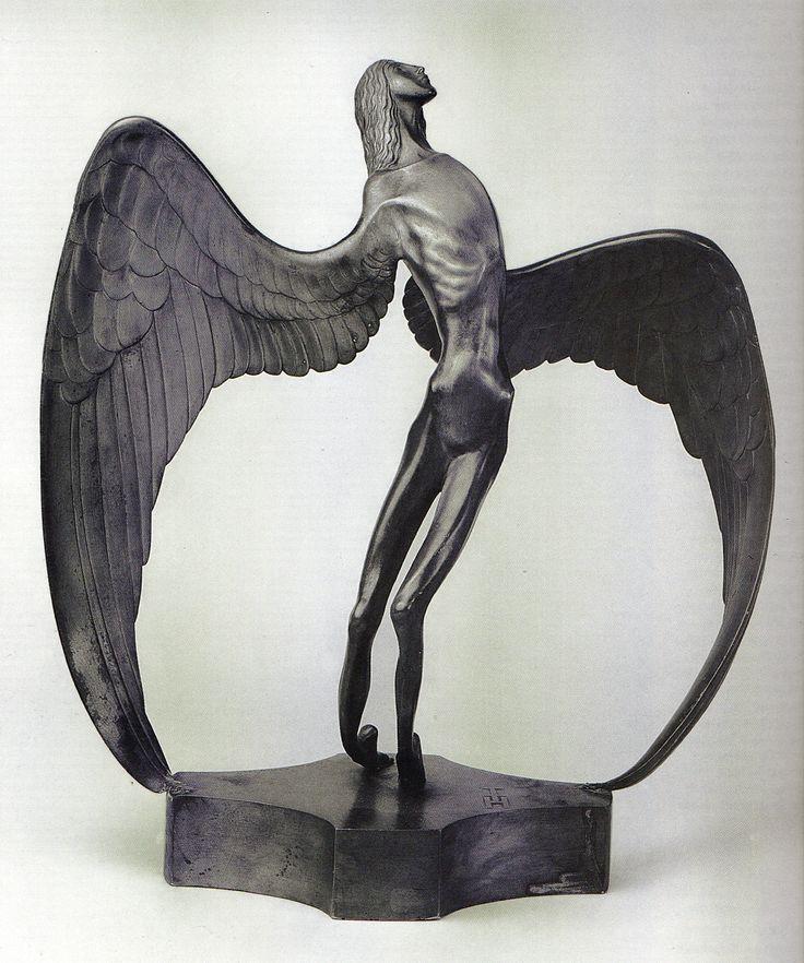 thomas theodor heine der engel 1905 modern sculpture pinterest. Black Bedroom Furniture Sets. Home Design Ideas