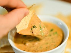 Taco Queso Dip | Serious Eats : All the spicy, earthy, and beefy flavor of a ground beef taco in dip form.