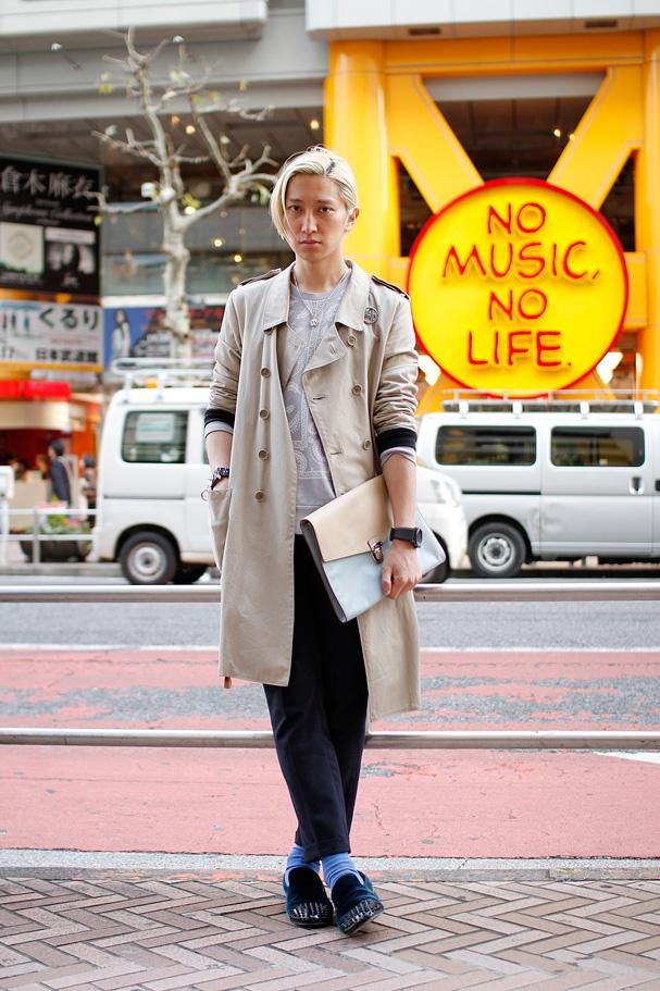 ストリートスナップ   2BOY   グラフィックデザイナー, DJ   渋谷 (東京) DROPTOKYO