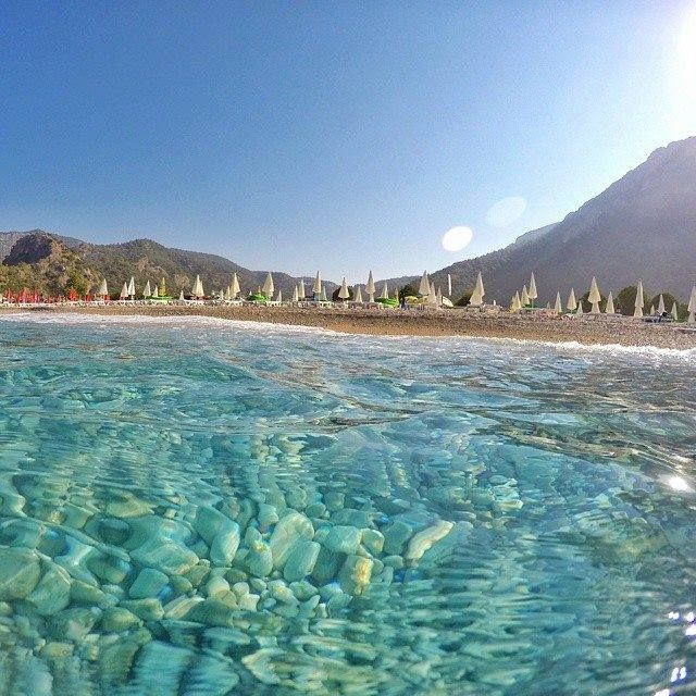 Anyone's who's already been to Ölüdeniz in Fethiye knows full well why it's considered one of the world's most beautiful beaches. For those who haven't been yet, well, this photo might help you see why!