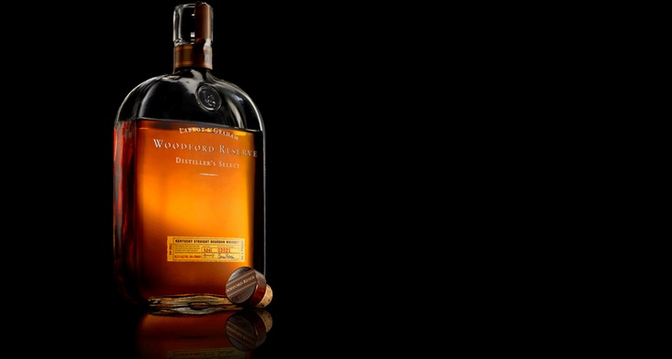 Woodford Reserve ... one of the best bourbon whiskeys I've ever had.