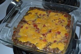 Beef Enchilada Bake with Velveeta and Rotel!!!