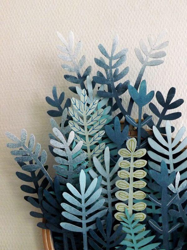 Végétaux de papier { inspiration de Saint-Patrick } - Plumetis Magazine