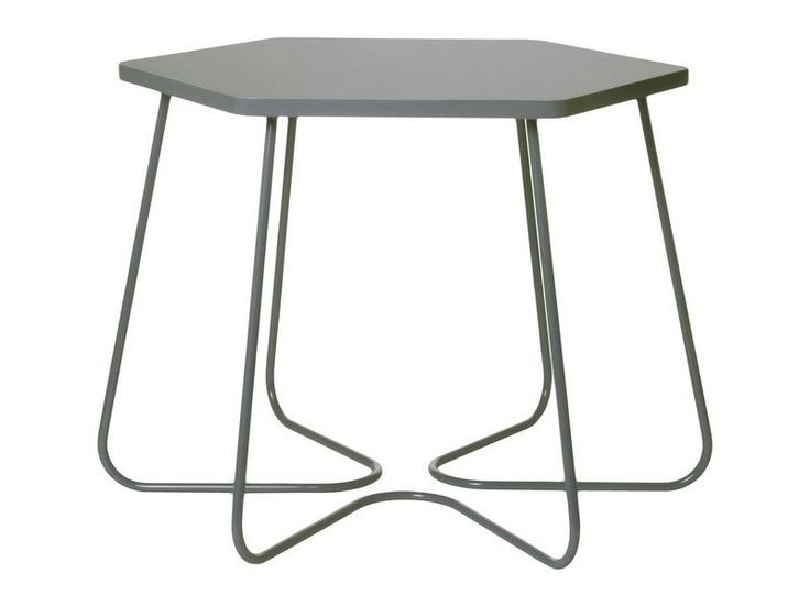 Table basse Hexagonale Gris foncé