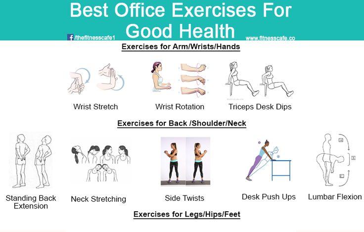 Best Office Exercises for Good Health