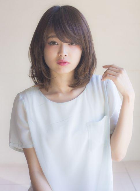 大人可愛いアンニュイカールミディアム  【Ramie】  http://beautynavi.woman.excite.co.jp/salon/27006?pint ≪ #mediumhair #mediumstyle #mediumhairstyle #hairstyle・ミディアム・ヘアスタイル・髪形・髪型≫