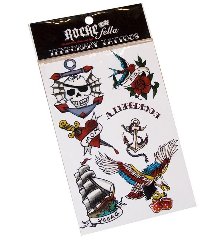Henna Tattoo Kit Hobby Lobby : Temporary tattoos rockefella loves accessories
