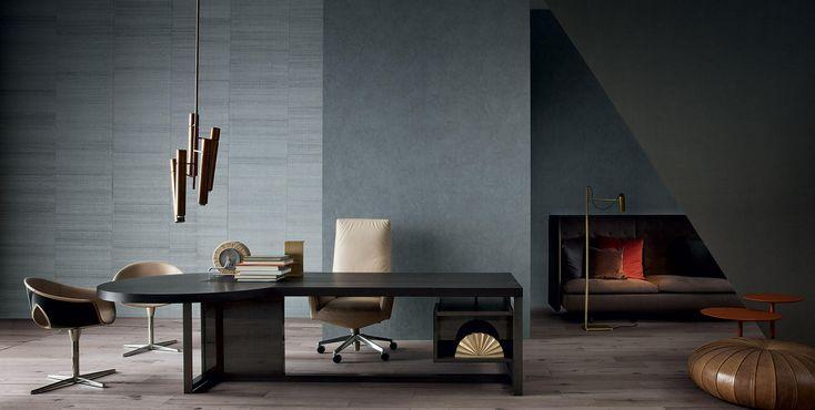 Jobs Desk by Poltrona Frau - Via Designresource.co