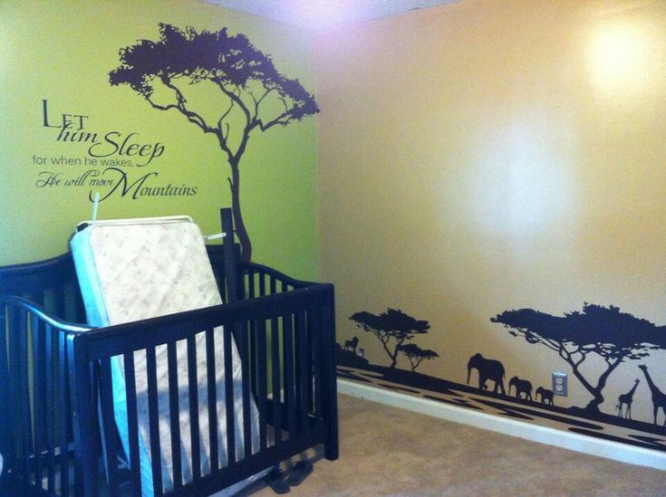 Beautiful lion king african themed nursery kids room so for Room decoration products