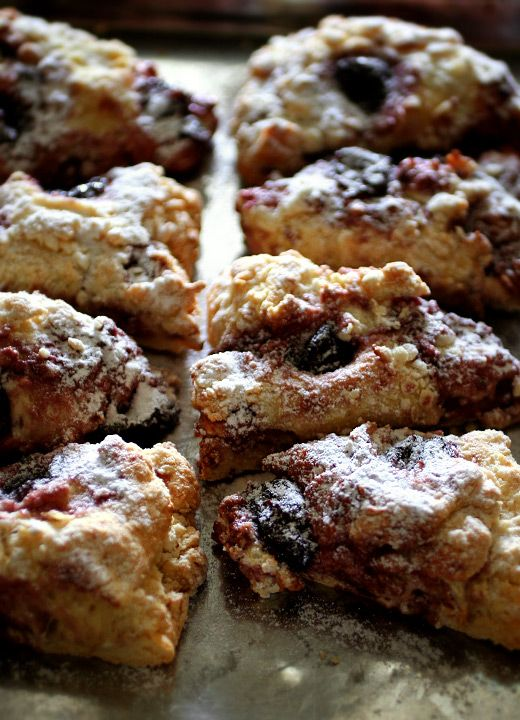 Cherry Scones- I remember the Martha's corner scones! OMG I love them! -- missing Cali so much