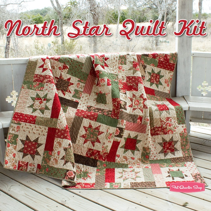 "My next project! Uses Atkinson Quilt Pattern ""Lucky Stars"". Moda ""Grace"" fabric."