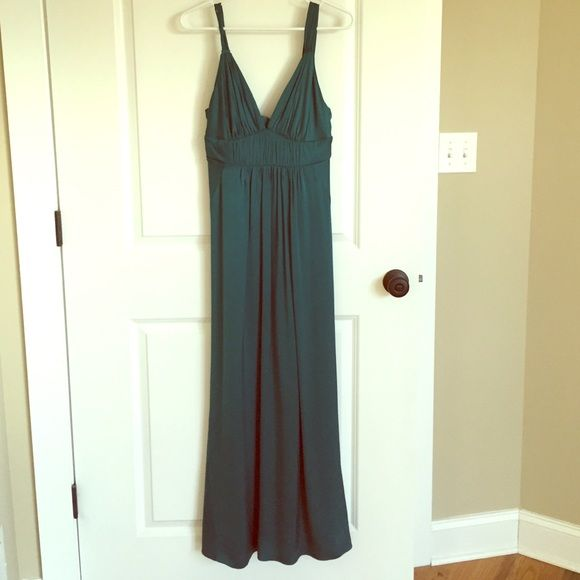 Maxi dress leger groen