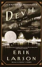 Our book clubs Review for The Devil in the White city by Erik Larson via Delicious Reads