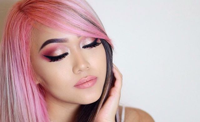 """I absolutely looove collaboration projects between makeup companies & fellow YouTubers(: I always feel so incredibly proud of their hard work & will continue to show my support // I'm using manny x ofra's liquid lipstick in Aries & carlibel x bhcosmetics Carli Bybel palette  ---------- MAKEUP DEETS: ---------- ✨ @milanicosmetics conceal + perfect foundation """"01 creamy vanilla"""" / #Milani ✨ @maybelline gel liner """"blackest black"""" & age rewind concealer """"neutralizer"""" / #Maybelline #MnyItLook…"""