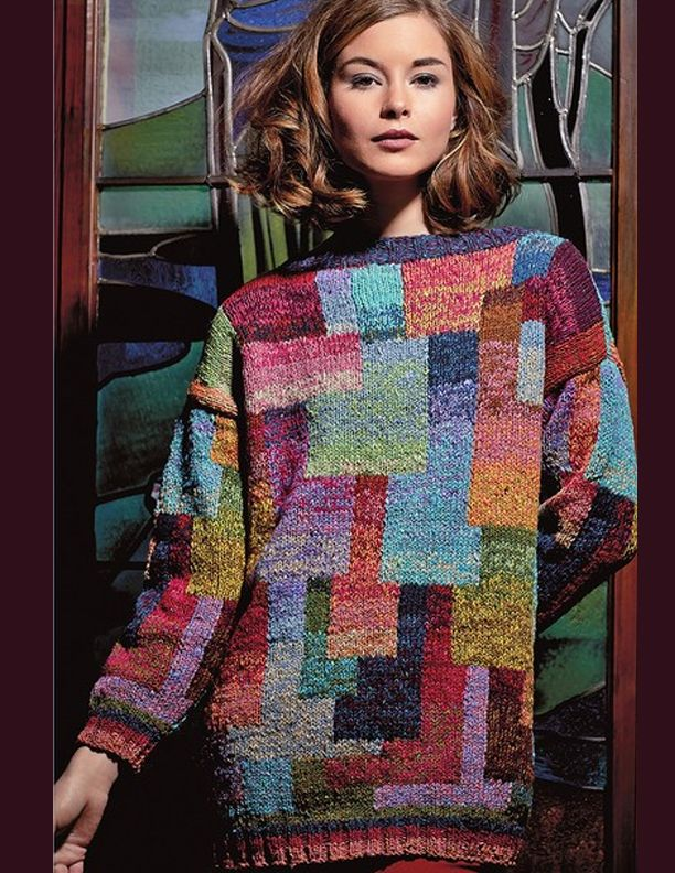 Patchwork with colour