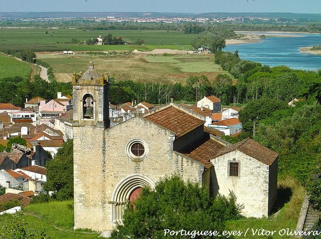 Igreja de Santa Cruz - Ribeira de Santarém - Portugal by Portuguese_eyes, via Flickr