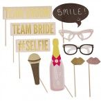 "Photo Booth ""Team Bride / Team Groom"""