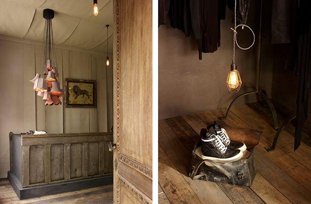 Hostem & The chalk Room by James Plumb, Shoreditch, Londres.