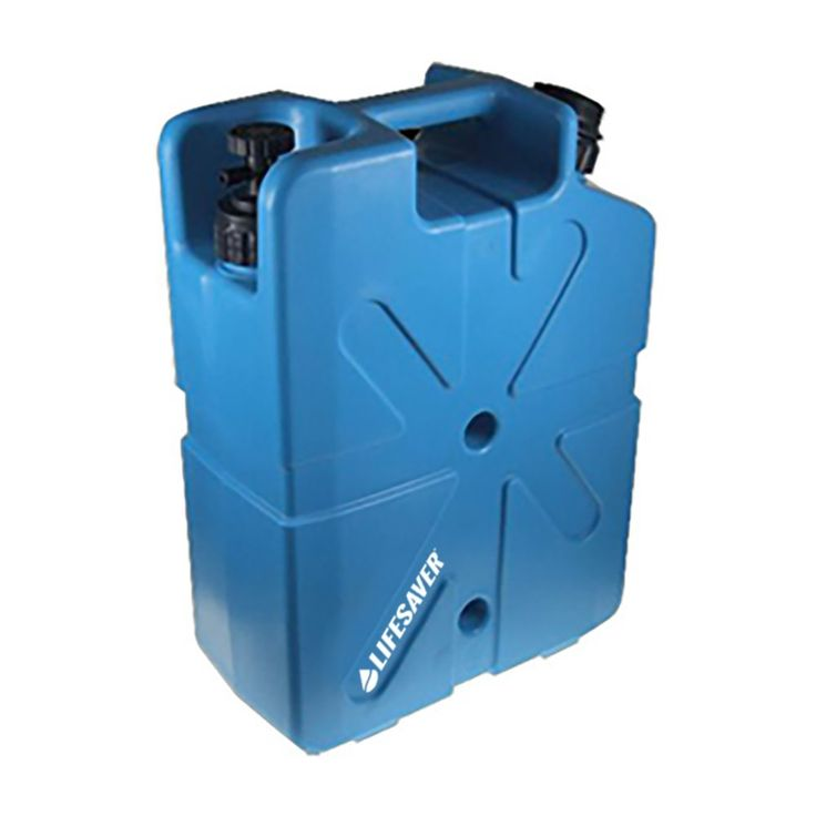 A robust and portable Jerrycan capable of filtering 10,000 litres / 2,641 US gallons of clean drinking water. Removes 99.99% of viruses and bacteria.