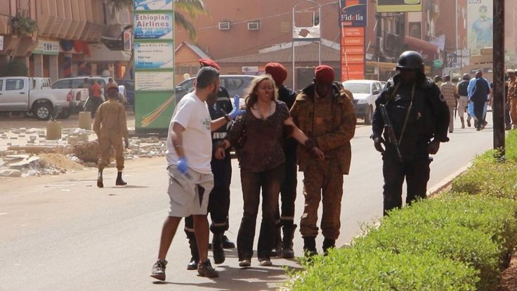 At least 28 people, including six Canadians, are now known to have died after Islamist militants attacked a hotel in Burkina Faso, in West Africa.
