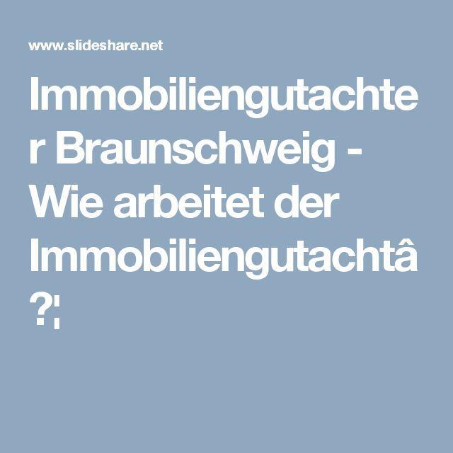 Immobiliengutachter Braunschweig Wie Arbeitet Der Immobiliengutacht